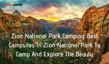 Zion National Park Camping: Best Campsites In Zion National Park To Camp And Explore The Beauty