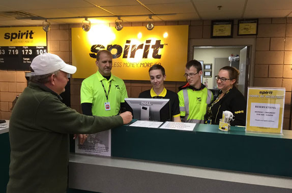 Spirit airlines booking