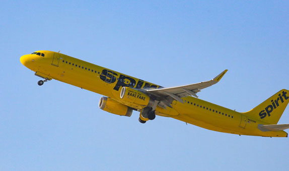 Spirit airlines Flight